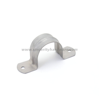 50mm High Quality Hot Dip Galv Conduit Pipe Clamp Two Holes