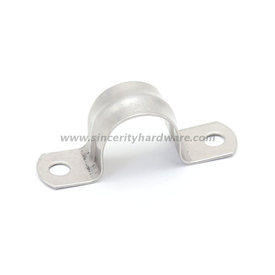 StainlessSteel20mm Saddle Pipe Clamp two hole