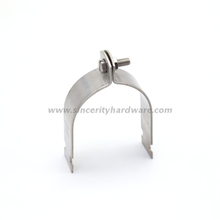 2-1/2'' stainless steel clamps unistrut support clamps
