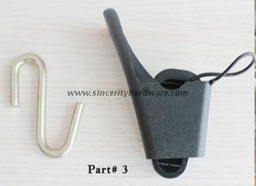 SHC-H: Plastic Fiber Optical Drop Wire Clamp