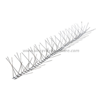 SHSS-35: 6 Rows Animal Resistance Spikes for Cat/dog/rodent/fox Control
